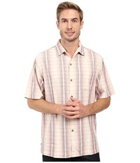 Tommy Bahama Ombre Garcia Shirt Rum Berry Men's Clothing Burgundy