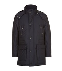 Corneliani Hooded Utility Jacket Male
