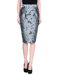 Andrea Incontri 3 4 Length Skirts Grey