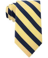 Club Room Men's Sail Stripe Classic Tie Only At Macy's Yellow