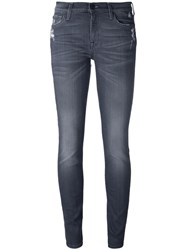 7 For All Mankind 'The Super Skinny' Jeans Grey