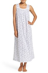 Eileen West Women's Print Cotton Ballet Nightgown