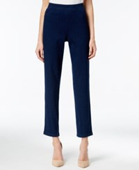 Alfred Dunner Sierra Madre Collection Cropped Pull On Jeggings Denim