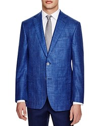 Jack Victor Loro Piana Classic Fit Sport Coat 100 Bloomingdale's Exclusive Blue