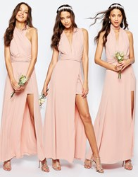 Fame And Partners Tall Ainsley Multiway Dress Pink