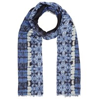 John Lewis Batik Placement Scarf Blue