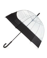 Hunter Original Moustache Bubble Umbrella Black Clear
