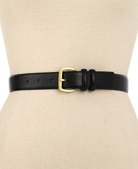 Style And Co. Double Keeper Belt Black