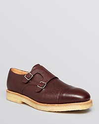 Mark Mcnairy Double Monkstrap Cap Toe Oxfords Chocolate Army