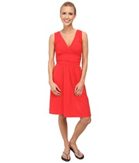 The North Face Heartwood Dress Tomato Red Women's Dress