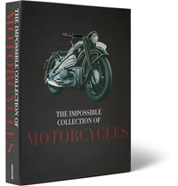 Assouline The Impossible Collection Of Motorcycles Hardcover Book Black