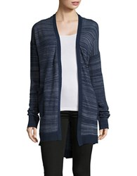 Calvin Klein Jeans Striped Duster Cardigan Midnight