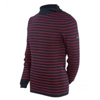 St James Red And Navy Stripe Sweater