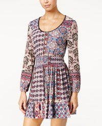American Rag Printed A Line Dress Only At Macy's Multi