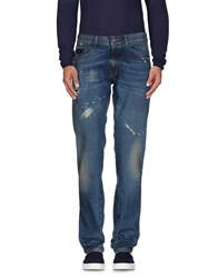 Cnc Costume National Costume National Denim Denim Trousers Men Blue