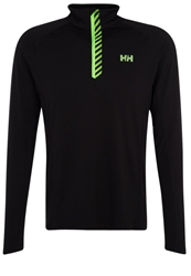 Helly Hansen Pace Long Sleeved Top Black