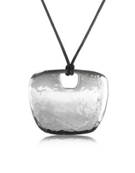Torrini Sterling Silver Pendant W Lace