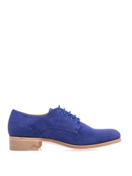 Christian Louboutin Chorale Suede Derby Shoes