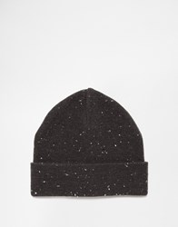 Selected Neppy Beanie Grey