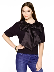 Kate Spade Madison Ave. Collection Kerson Top Black