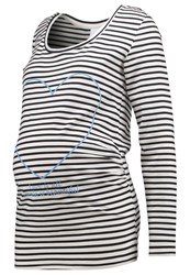 Mama Licious Mlfia Ls Long Sleeved Top Snow White
