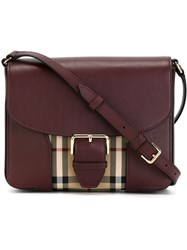 Burberry Small Horseferry Check Crossbody Bag Nude And Neutrals