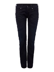 Replay Newswenfani Thermo Relaxed Fit Jeans Black
