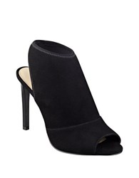 Nine West Levona Peep Toe Booties Black