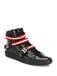 Bally Patent Leather Sneakers Black