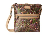 Sakroots Artist Circle Tablet Crossbody Lavender Spirit Desert Cross Body Handbags Brown