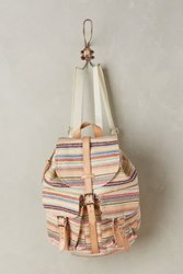 Anthropologie Daybreak Backpack Coral