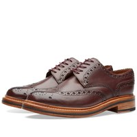 Grenson Archie Brogue Burgundy
