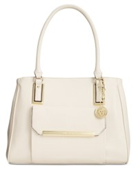 Anne Klein Shimmer Down Large Satchel Sugar