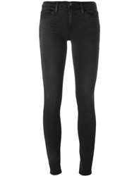Frame Denim Skinny Jeans Black