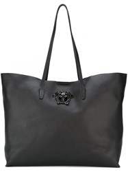Versace Medusa Shopper Tote Black
