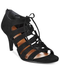 Styleandco. Style Co. Hannde Lace Up Shooties Only At Macy's Women's Shoes Black