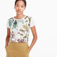 J.Crew Fall Foliage T Shirt