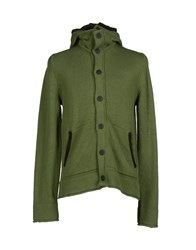 Blauer Knitwear Cardigans Men Green