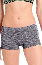 2Xist Women's 2 X Ist Hipster Boyshorts Charcoal Space Dye