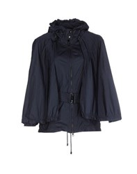 Add Coats And Jackets Jackets Women Dark Blue
