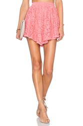 Nbd Make Me Blush Skirt Coral