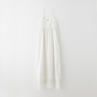 Band Of Outsiders Fil Coupe Tiered Maxi Slip Dress Ivory