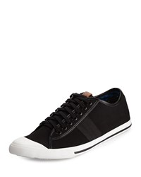 Ben Sherman Earl Lo Canvas Sneaker Jet Black