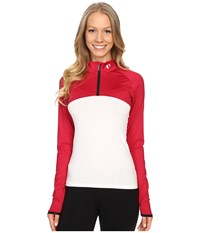 Pearl Izumi Elite Escape Shrug Cerise Women's Workout Red