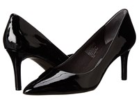 Rockport Total Motion 75Mm Pointy Toe Pump Black Patent 1 High Heels