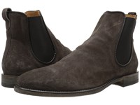 John Varvatos Fleetwood Chelsea Boot Charcoal Men's Pull On Boots Gray