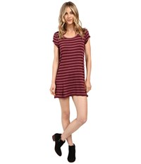 Billabong Moon Shadow Dress Mystic Maroon Women's Dress Brown