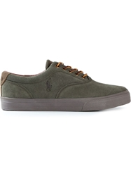 Polo Ralph Lauren Lace Up Sneakers Green