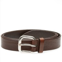 Andersons Anderson's Burnished Leather Belt Brown
