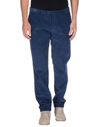 Alain Trousers Casual Trousers Men Dark Blue